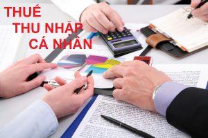 Hạch toán Thuế thu nhập cá nhân