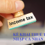 Kê khai thuế thu nhật cá nhân