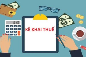 Những quy định về kê khai tính thuế