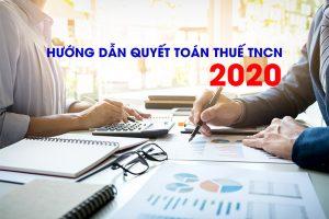 Quyết toán thuế TNCN năm 2020