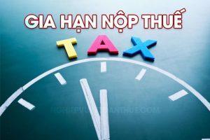 Gia hạn nộp thuế